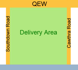 Delivery to Green Area